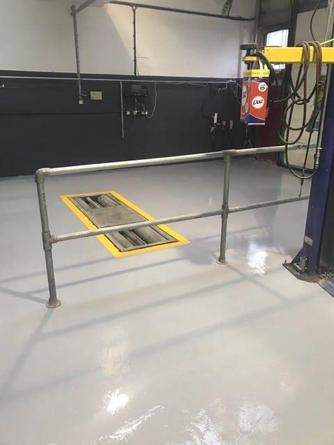 Epoxy Resin Coating – Vehicle Workshop